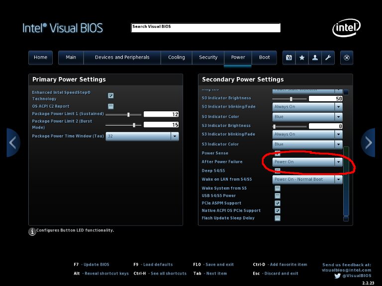 Intel NUC BIOS Settings for FreePBX – Redshift VoIP